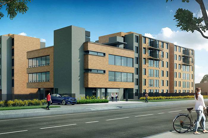 Render exterior Toledo Apartamentos VIS Vivienda de Interes Social Soacha subsidio hogares huerto Amarilo Avenida via indumil
