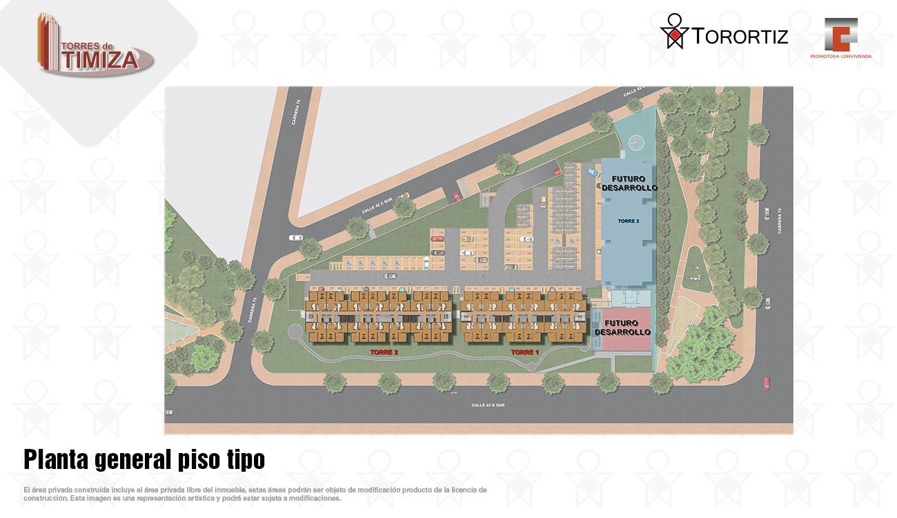 Torres-de-timiza-apartamentos-kennedy-nuevos-vivienda-de-interes-social-subsidio-vis-venta-vivienda-bogota-2-habitaciones-torortiz-casas-lotes-Planta general piso tipo