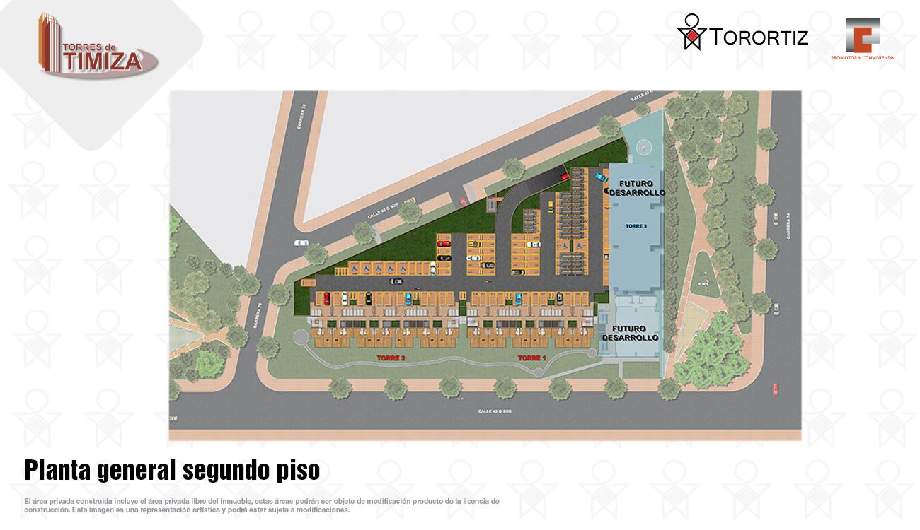 Torres-de-timiza-apartamentos-kennedy-nuevos-vivienda-de-interes-social-subsidio-vis-venta-vivienda-bogota-2-habitaciones-torortiz-casas-lotes-Planta general segundo piso