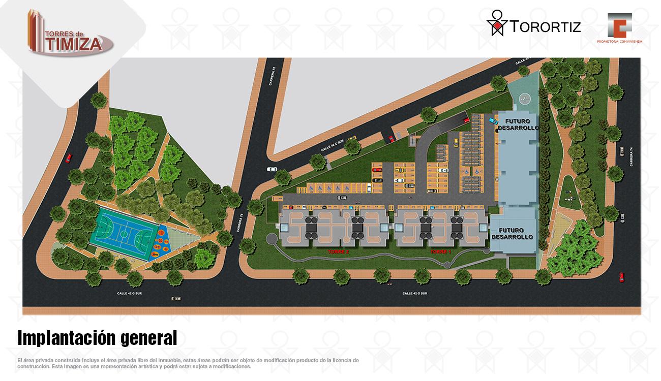 Torres-de-timiza-apartamentos-kennedy-nuevos-vivienda-de-interes-social-subsidio-vis-venta-vivienda-bogota-2-habitaciones-torortiz-casas-lotes-Implantacion general