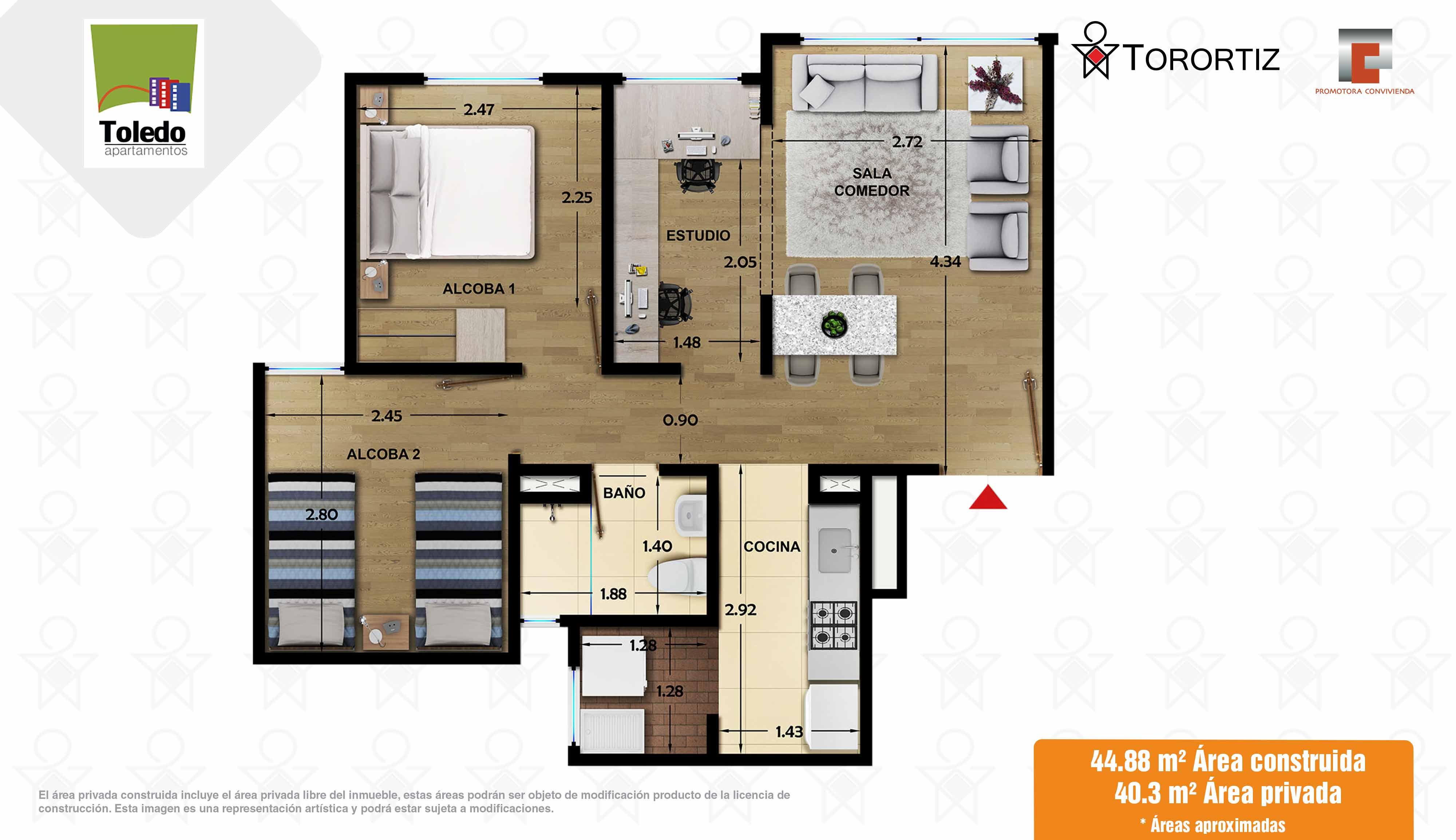 Apartamento_tipo_D_44_m²_Toledo_Apartamentos_Torortiz_Nuevos_en_venta_Soacha