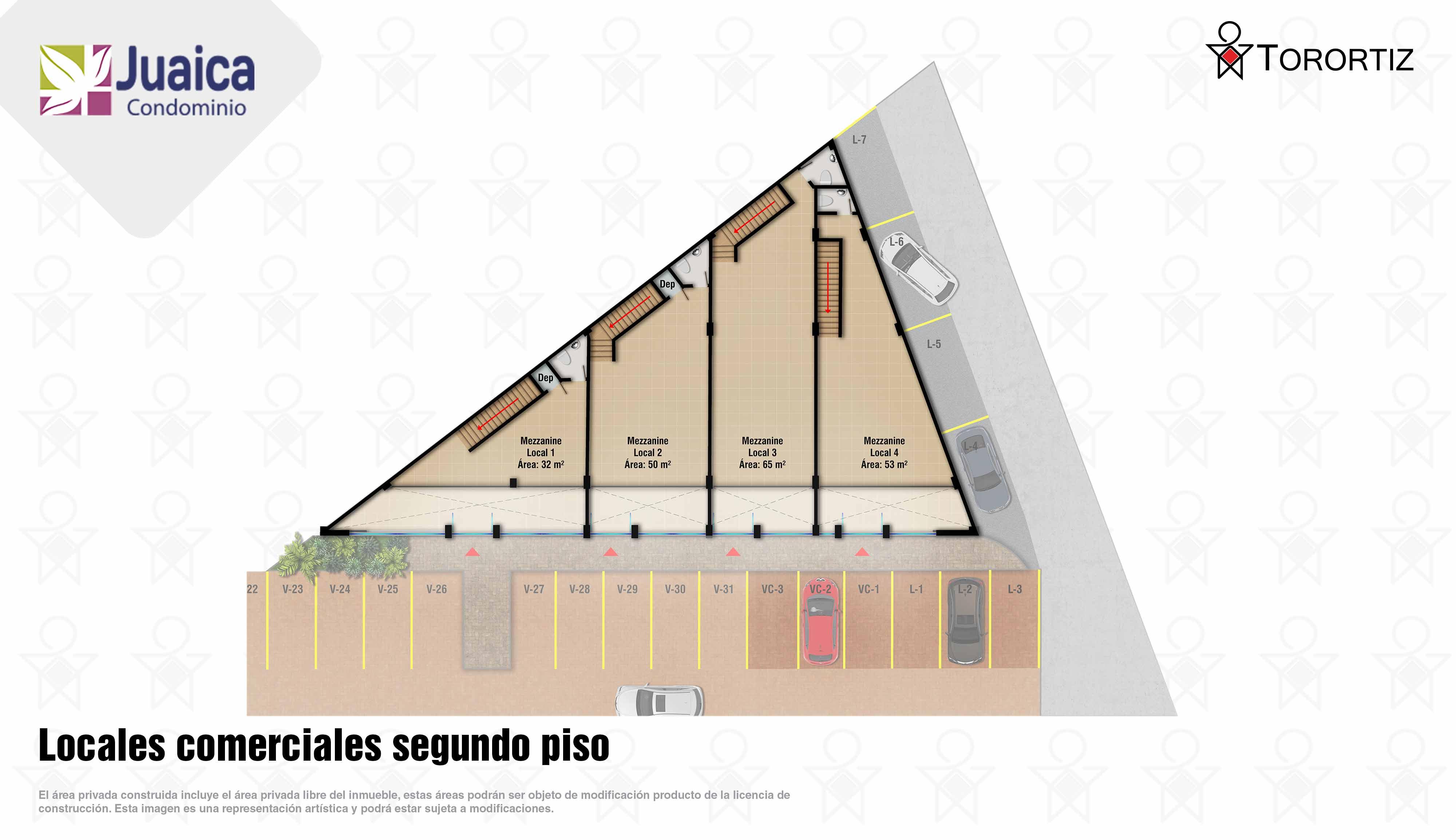 Juaica-condominio-locales-tenjo-calle-80-portal-venta-vivienda-nueva-cundinamarca-mezzanine-torortiz-casas-lotes-Locales comerciales segundo piso