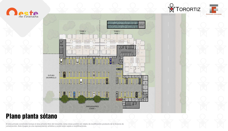 Oeste-de-granada-apartamentos-calle-80-portal-venta-vivienda-nueva-bogota-3-habitaciones-dos-baños-torortiz-casas-lotes-Plano planta sotano