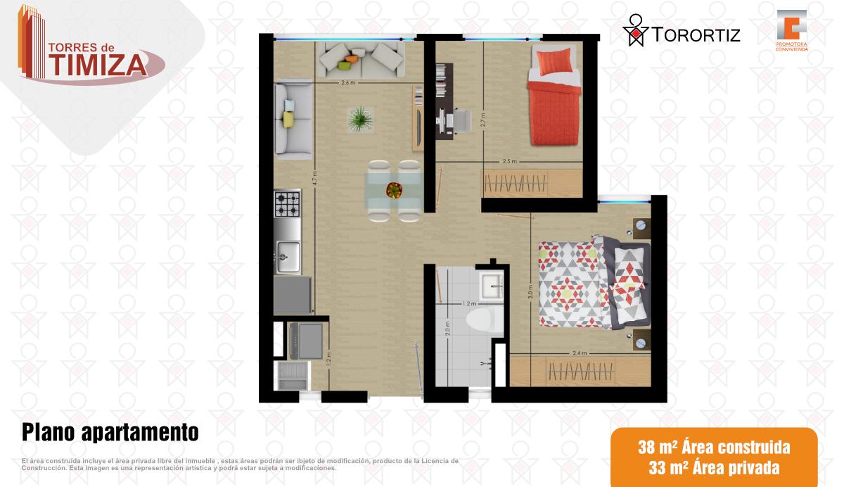 Torres de Timiza, apartamentos en venta, sector Kennedy, Bogotá, vivienda de interés social VIS, aplica subsidio.