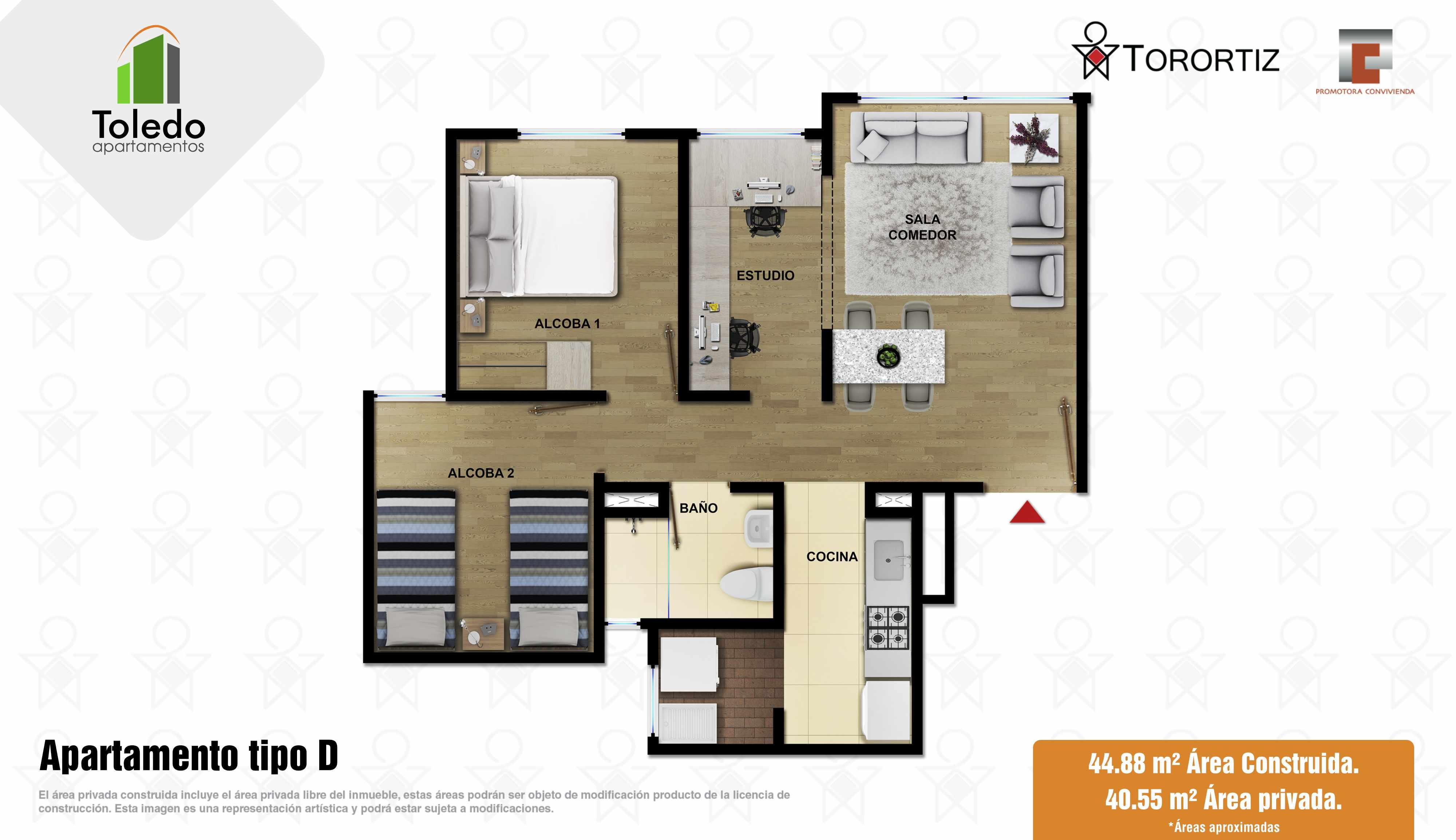 Toledo Apartamentos VIS Vivienda de Interes Social Soacha subsidio hogares huerto Amarilo Avenida via indumil