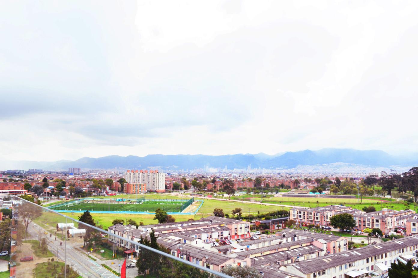 Vista real - Terraza BBQ - Club House - Torres de Timiza, apartamentos en venta, sector Kennedy, Bogotá, vivienda de interés social VIS, aplica subsidio
