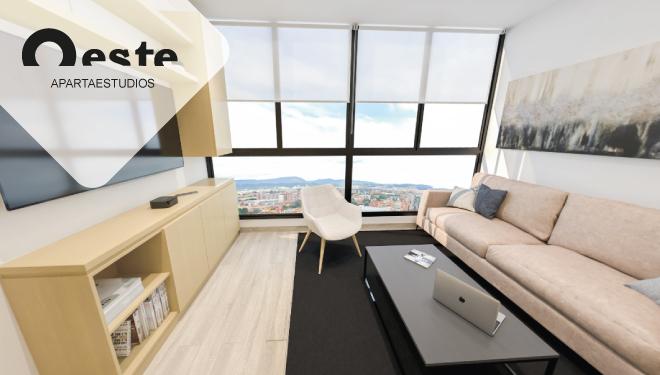 Oeste de Granada - Apartamentos en venta - Apartaestudio - Lanzamiento Etapa - Calle 80 - Gran Granada - Altos - Senderos - Brisas - Ciprés - Sabana - Plano de planta apartamento