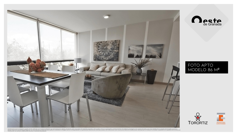 Oeste de Granada - Apartamentos en venta Calle 80 - Gran Granada - Altos - Senderos - Brisas - Ciprés - Sabana Tinguazul - San Jerónimo - Alameda de San Diego - Apartaestudio - Apartamento- Imagen foto - Render - Tres habitaciones
